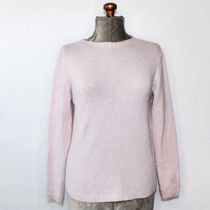Hekla & Co Light Lilac Merino Wool Knit Sweater